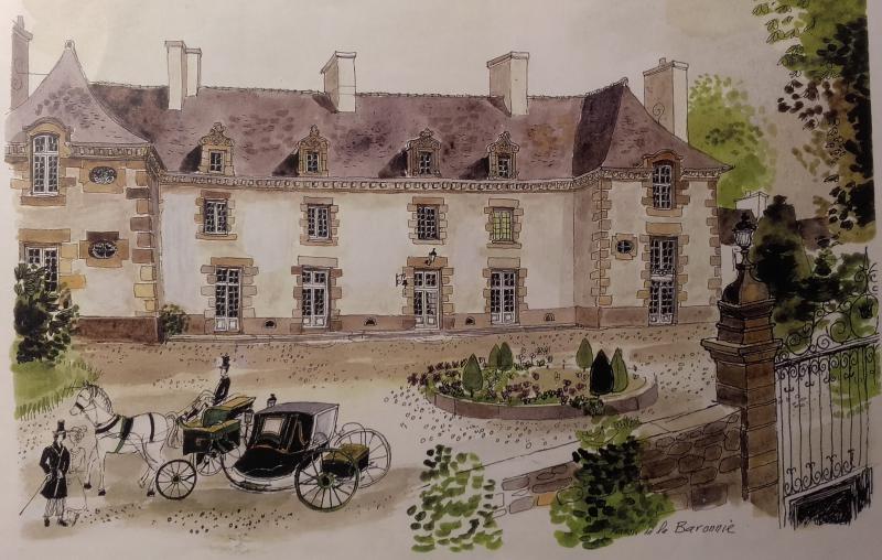 Le manoir de la baronnie saint malo chambres d 39 h tes et roulotte - Chambres d hotes saint malo ...